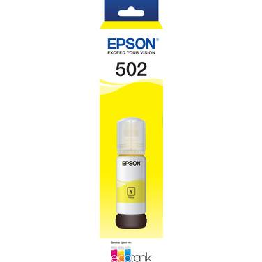 Epson T502 Yellow EcoTank Bottle PN E502Y