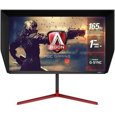 27 AOC AGON AG273QG QHD G-Sync Nano IPS Gaming Monitor With Speakers And Height Adjust