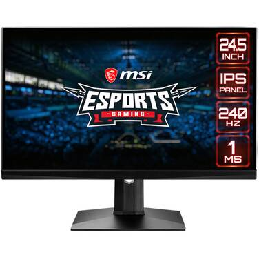 25 MSI Optix MAG251RX FHD RGB G-Sync IPS Gaming Monitor With Height Adjust