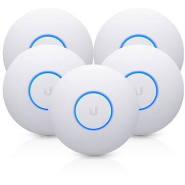 Ubiquiti UniFi Wireless-AC2100 Wave 2 Access Point with PoE UAP-NANOHD-5 Pack