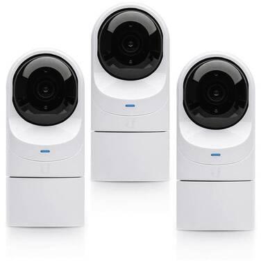 Ubiquiti UniFi UVC-G3-Flex-3 PoE FHD Indoor/Outdoor IP Camera 3 Pack
