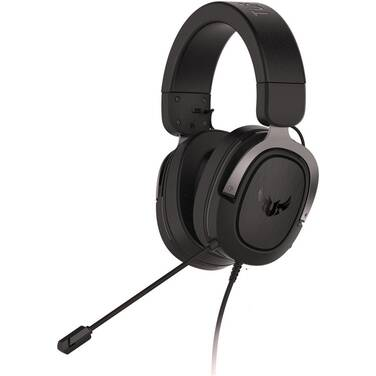 ASUS Wired TUF H3 Sliver 7.1 Surround Sound Gaming Headset