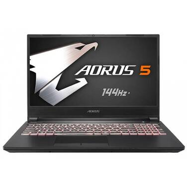 Gigabyte Aorus 5 MB-5AU1130SH Core i5 (10th Gen) 15.6 Notebook Win 10