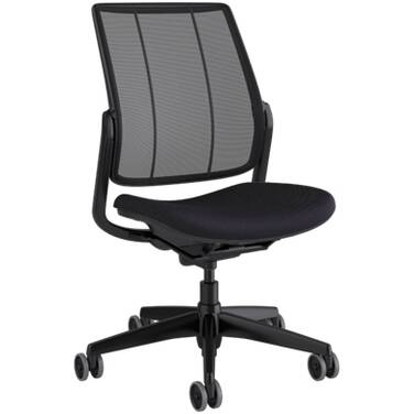 Humanscale Smart Armless Office Chair (Black)