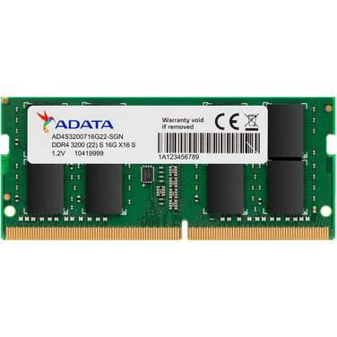 8GB SODIMM DDR4 ADATA 3200MHz Notebook RAM AD4S320038G22-RGN