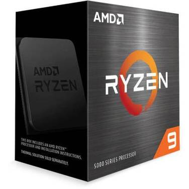 AMD AM4 Ryzen 9 5950X 16 Core 4.9GHz CPU (No Cooler) 100-100000059WOF