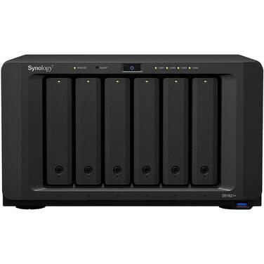 6 Bay Synology DS1621+ 4GB DiskStation 4xGbE NAS Unit