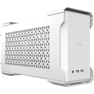 Cooler Master MasterCase NC100 White NUC Case With 650W Gold SFX PSU MCM-NC100-WNNA65-S00