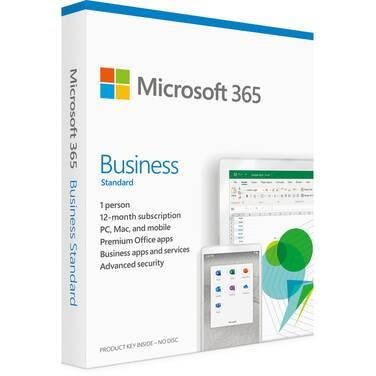 Microsoft Office 365 Business Standard Retail Mac/Win 1 Year Subscription KLQ-00453
