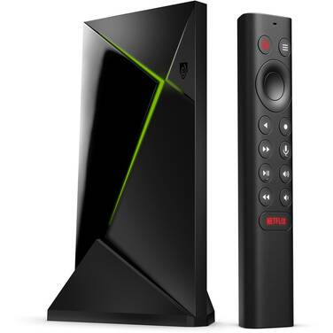 NVIDIA Shield TV PRO 16GB 4K Streaming Media Player with Remote 945-12897-2506-101 - SHOP SOILED - CLEARANCE - OPENED