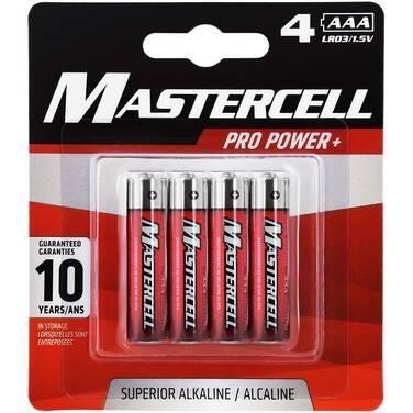 Dorcy Mastercell AAA Alkaline 4 Pack Batteries 41-1624