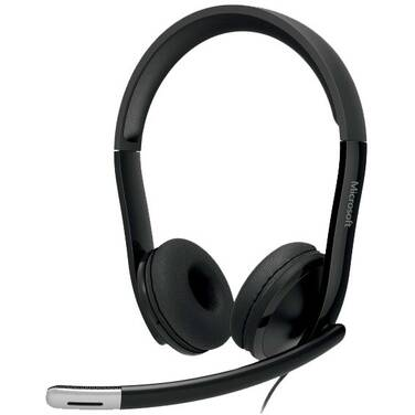 Microsoft Lifechat LX-6000 USB Headset with Noise Cancelling Microphone 7XF-00003