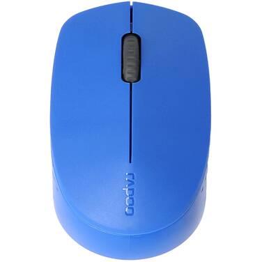 Rapoo M100 2.4GHz & Bluetooth Wireless Mouse Blue M100-Blue