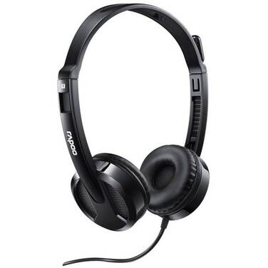 Rapoo H100 Wired Stereo Headsets H100-Black