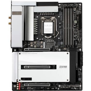 Gigabyte S1200 ATX Z590 VISION D DDR4 Motherboard