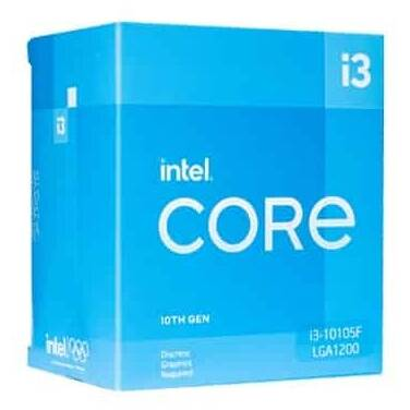 Intel S1200 Core i3 10105F 3.7Ghz Quad Core CPU BX8070110105F