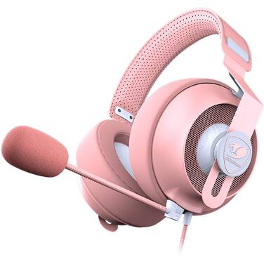 Cougar Phontum S 3.5mm Gaming Headset Pink PN CGR-P53NP-510 - OPEN STOCK - CLEARANCE