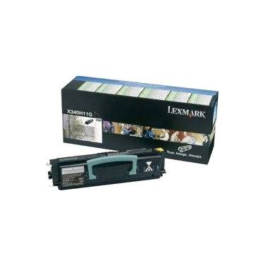 Lexmark X340H11G Black Toner Cartridge (6,000 Pages)