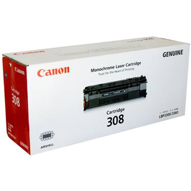 Canon CART308 Black Toner Cartridge (2,500 Pages)