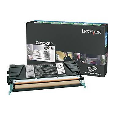 Lexmark C5220KS Black Toner Cartridge (4,000 Pages)