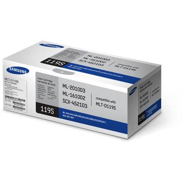 Samsung MLT-D119S Black Toner Cartridge (2,000 Pages)