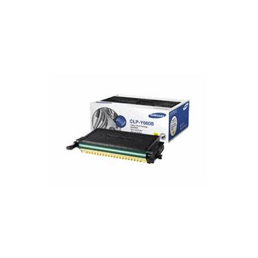 Samsung CLP-Y660B/SEE Yellow Toner Cartridge (5,000 Pages)