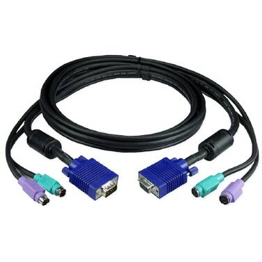 3 Metre ATEN 2L-1003P/C PS2 Male to PS2 Male KVM Cable