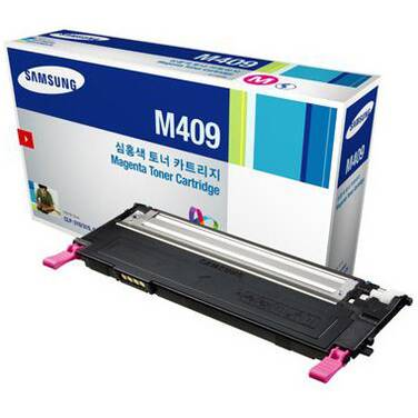 Samsung CLT-M409S/SEE Magenta Toner Cartridge (1,000 Pages)