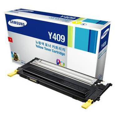 Samsung CLT-Y409S/SEE Yellow Toner Cartridge (1,000 Pages)