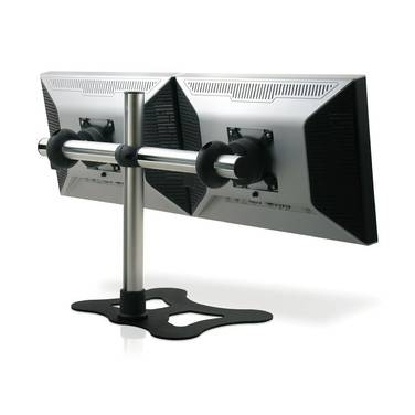 Visidec Freestanding Double Horizontal Monitor Mount PN VFS-DH