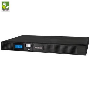 1000VA CyberPower 1U Rackmount UPS PN PR1000ELCDRT1U