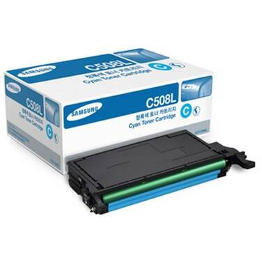 Samsung CLT-C508L Cyan Toner Cartridge (4000 Pages)