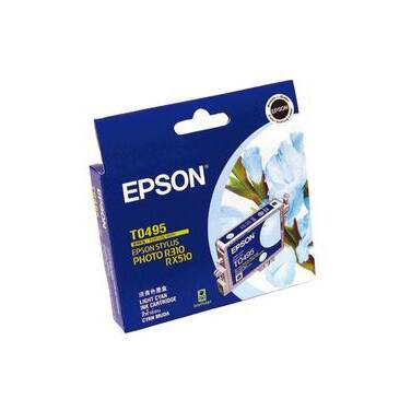 Epson T0495 Light Cyan Inkjet Cartridge