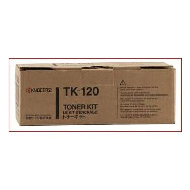 Kyocera TK-120 Black Toner Cartridge (7,200 Pages)