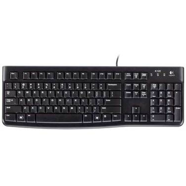 Logitech K120 Wired USB Keyboard PN 920-002582