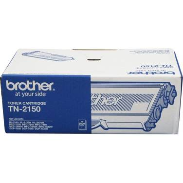 Brother TN-2150 Black Toner Cartridge (2,600 Pages)