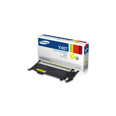 Samsung CLT-Y407S Yellow Toner Cartridge (1,000 Pages)