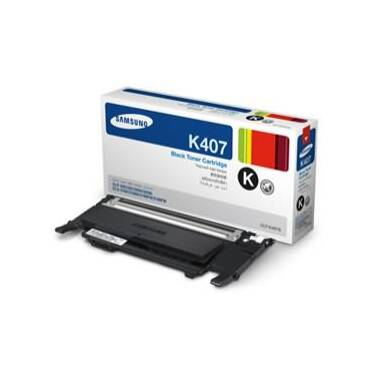 Samsung CLT-K407S Black Toner Cartridge (1,500 Pages)