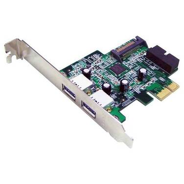 3 Port USB 3.0 PCIe Shintaro Controller Card (2 External / 1 Internal) PN SHUSB3PCIE3V2