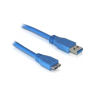 2 Metre USB 3.0 Certified Male A to Male Micro-B Cable