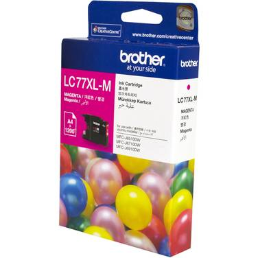 Brother LC77XLM Magenta Ink Cartridge (1,200 Pages)