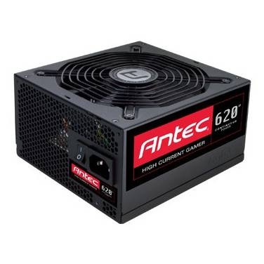 620 Watt Antec HCG-620M High Current Gamer Modular Power Supply