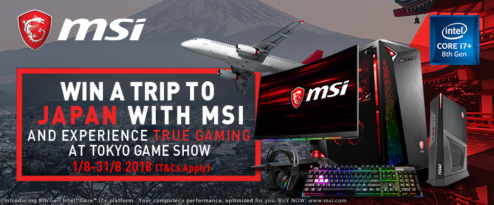 MSI Tokyo Gaming Show Comp Front
