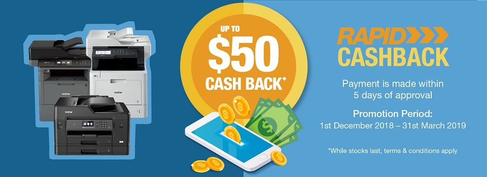 Upto $50 Cash Back*