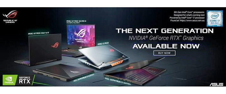 ASUS RTX Banner Front 2019