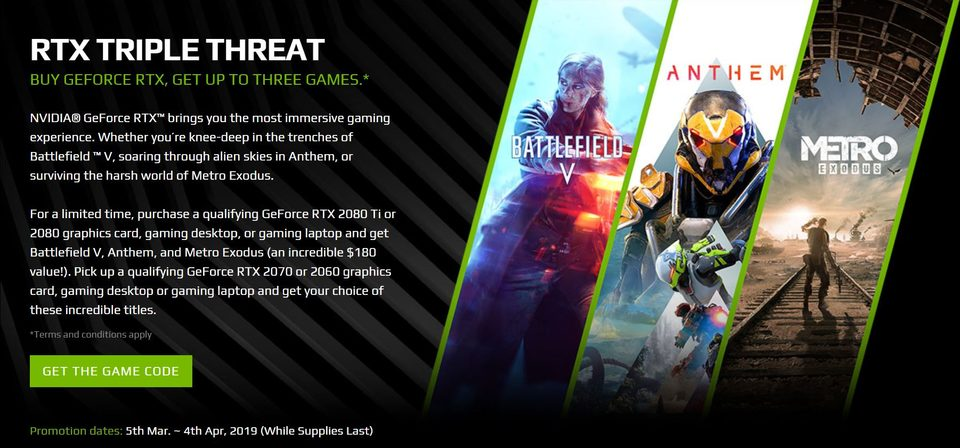 BONUS Battlefield V and Anthem and Metro Exodus!*