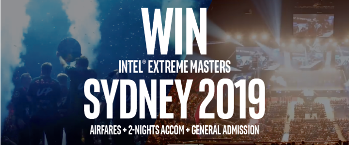 Intel Extreme Masters Comp Front