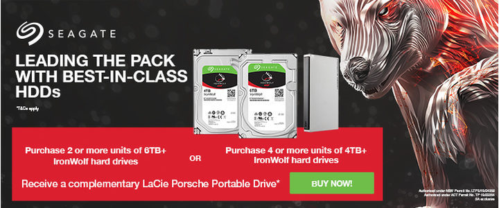 Seagate Ironwolf 2019 Front