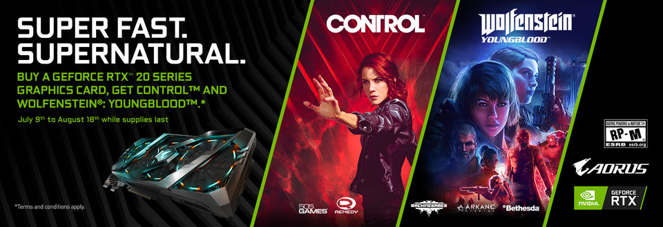 BONUS Control & Wolfenstein Youngblood!*