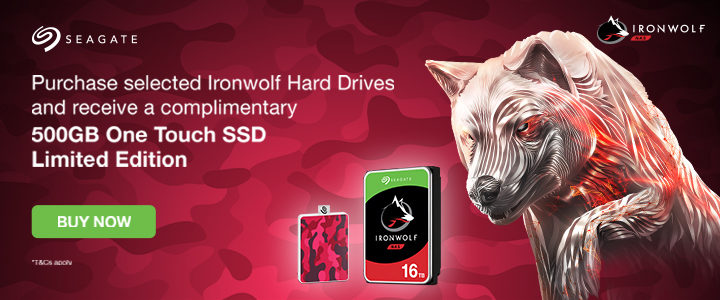 Seagate Ironwolf 2019 - 11th Nov - 31st Dec 2019 Front